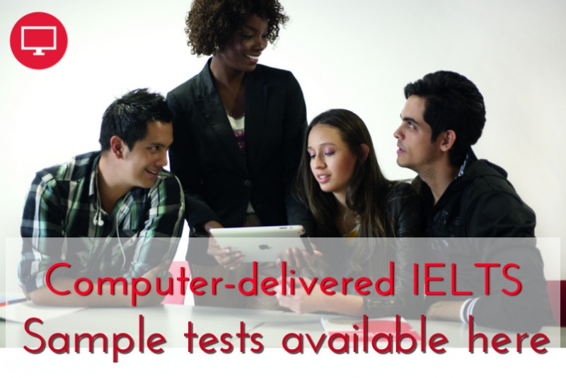 Calgary Computer delivered IELTS Sample Tests