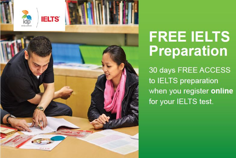 FREE 30 Days IELTS Preparation
